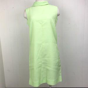 Vintage 60s Green Shift Dress